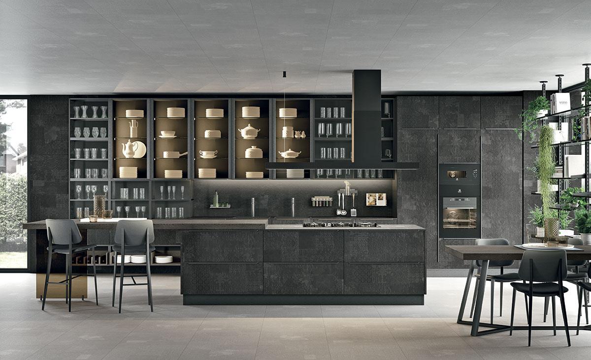 Quattro Tipologie di Cucine Lube.